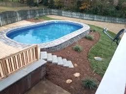 semi inground pool ideas. Semi Inground Pool Pictures Swimming Designs . Ideas E