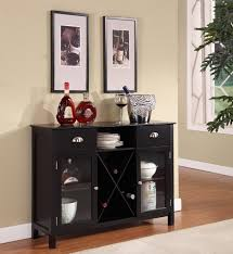 Wine Cabinet Black Narrow Console Table Kings Brand Wr1242 Wood Wine Rack Console