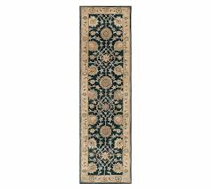 pottery barn madeline persian runner rug 2 5 x 9 blue multi item 4750654