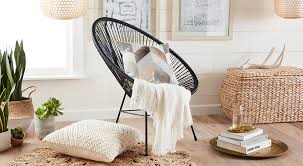 explore a decor collection featuring wicker rattan other natural textures
