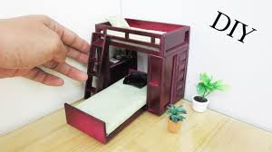 how to make miniature furniture. Trundle Bed | How To Make Realistic Miniature Furniture Dollhouse Miniature