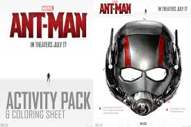Small Picture FREE Printable Ant Man Activity Pages and Coloring Sheets Fancy