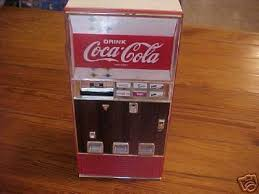 Miniature Vending Machine Adorable Cocacola Collectible Miniature Vending Machine 48
