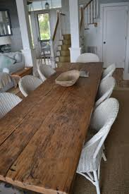 Best  Wood Table Tops Ideas On Pinterest - Rustic farmhouse dining room tables