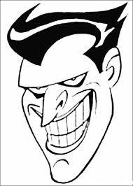 Disegno Di Il Viso Di Joker Da Colorare Disegni Da Colorare E