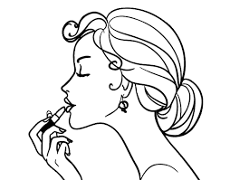 Small Picture Fashion Coloring Pages