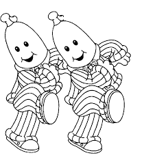 33 Bananas In Pajamas Coloring Pages Pajama Day Coloring Pages
