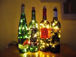 Decorating Empty Wine Bottles 100 DIY Ideas for Empty Wine BottlesBecause the Fun Doesn't Stop 35