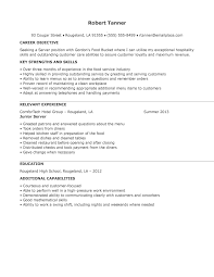 resume for restaurant job application letter for hotel and restaurant