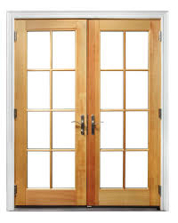 wood and clad wood patio doors