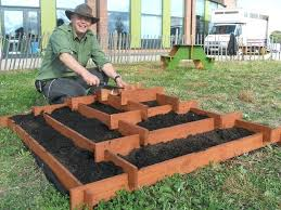 box garden ideas. Planting Box Garden Slot Together Pyramid Planter 3 Steps With Pictures Flower Ideas .