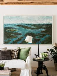 Living Room Artwork Designing With Wow Worthy Art At Hgtv Dream Home Hgtv Dream Home