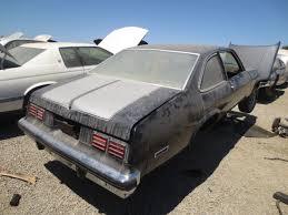 1976 Chevrolet Nova Junkyard Find