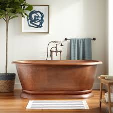 problems with copper bathtubs premier s oval self hammered dropin drop in bathroom sink l14005433 signature