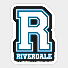Sticker Chart Mesmerizing R Riverdale Riverdale Sticker TeePublic
