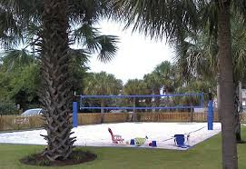 Outdoor Volleyball Court Dimensions  Future Reference  Pinterest Backyard Beach Volleyball Court