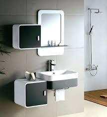 modern bathroom cabinets. Modern Bathroom Vanity Cabinets Image Of White 24 .