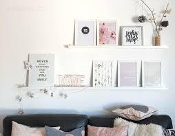Shelf: Bilder, Tapete, Geschenkpapier, LOVE Schriftzug | Wohnzimmer | Rosa  Grau Schwarz
