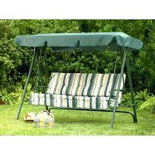 swings canopy 3 seat swings with canopy sears garden oasis 3 person swing replacement canopy 3