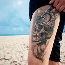 тату совы 55 фото татуировок на разных частях тела