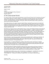 Primary Teacher Cover Letter Cover Letter Template Job Fresh Teacher Format Education Teaching