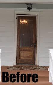 front door curb appealNew Red Front Door at the Flip House  Hometalk