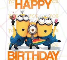 Printable Diy Minions Happy Birthday Despicable Me Universal Minion