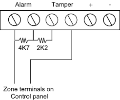anyone know about alarms page 1 homes gardens and diy to wire the resistors its kind of like this random diagram