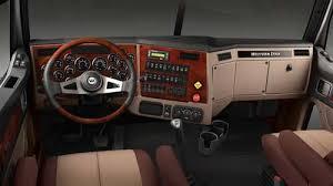 western star trucks 4900 prairie buckskin dash w rosewood premium prairie buckskin interior