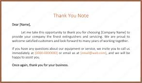 customer appreciation thank you letters thank you letter to client for giving business template