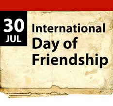 Image result for Images for International Friendship day 30th July 2018.
