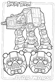 Angry Birds Star Wars Coloring Pages R2d2 And Bb8 Angr Betterfor