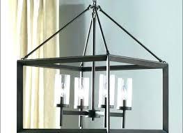 chandeliers rectangular wood chandelier and iron metal