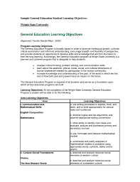 Importance Of A Resume General Resume Objective Samples