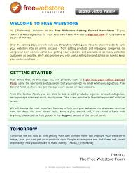 sample company newsletter 3 good welcome email examples aweber email marketing