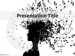 Music Powerpoint Template Free Music Effect Powerpoint Template Download Free