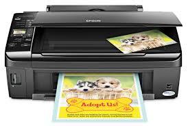 Amazon Com Epson Stylus Nx215 Color Inkjet All In One Printer