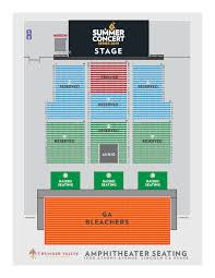 Thunder Valley Concert Seating Chart 46 Described Hammer Theater Seating Chart