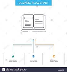 Author Book Open Story Storytelling Business Flow Chart