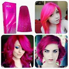 Berina Hair Color Cream Pink Magenta