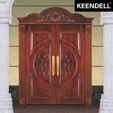 House Main Door Design With Flowers Hot Sale Exterior Entry Front Wooden Composite Main Door