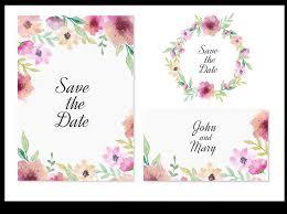 Wedding Design Download Download Pink Picture Frame Wedding Design Invitation Floral