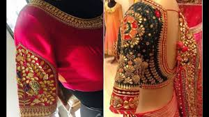 Gota Patti Saree Blouse Designs Latest Gotapatti Work Blouse Design Patterns Blouse Designs For Back And Front Saree Blouse