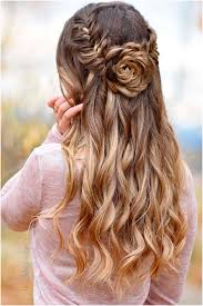 half up hairstyles for prom inspirational best 25 half up half down ideas on