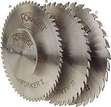 forrest blades. forrest woodworker blades t