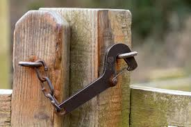 metal gate latch. download metal gate latch stock photo. image of functional, object - 53947572