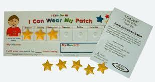 I Can Wear My Patch Reward Chart Kensonkids Com Behavior