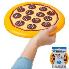Beach Toy 718856156917 Disc Ebay Flying Bigmouth - Fun Pepperoni The Frisbee Food Pizza