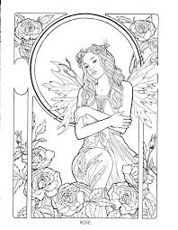 Fairy Coloring Books Grab These Beautiful Adult Coloring Pages In A