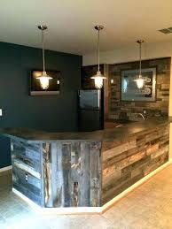 wall bar ideas design half basement